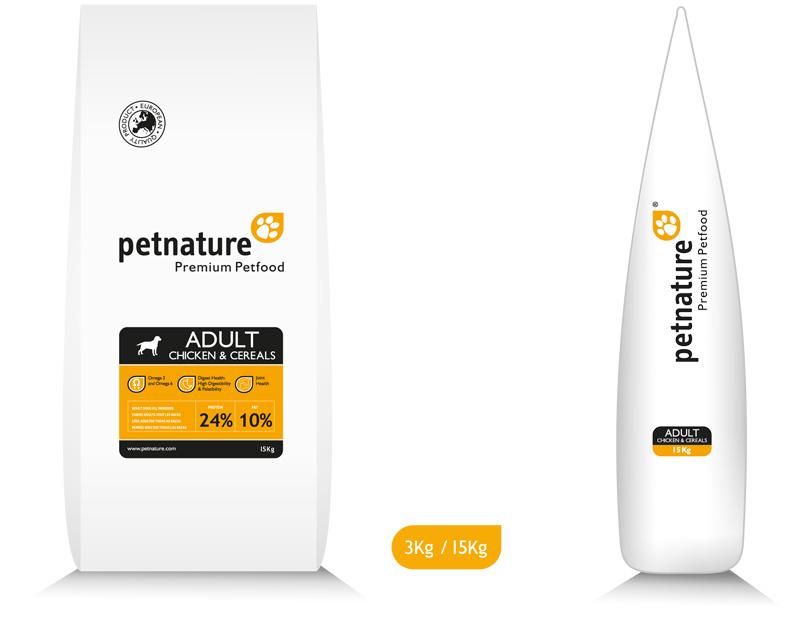 ΣΚΥΛΟΤΡΟΦΗ-PETNATURE-ADULT-C&C